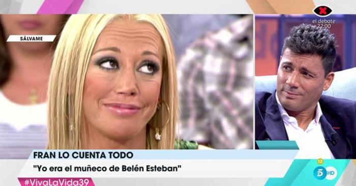 Fran Álvarez no entiende por qué Belén Esteban siente tanto rencor hacia él