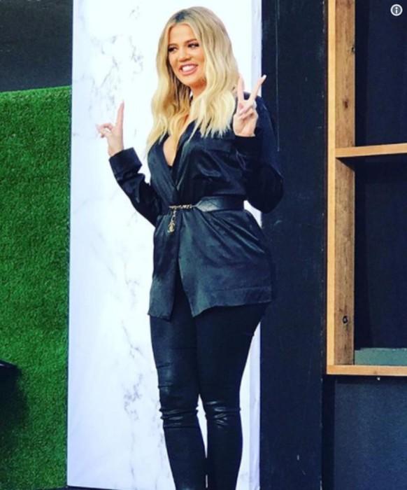 Khloe Kardashian hace su primera aparición pública tras la noticia de su embarazo