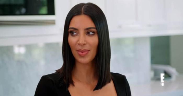 Kim Kardashian se muestra insegura con su cuerpo en Las Kardashian