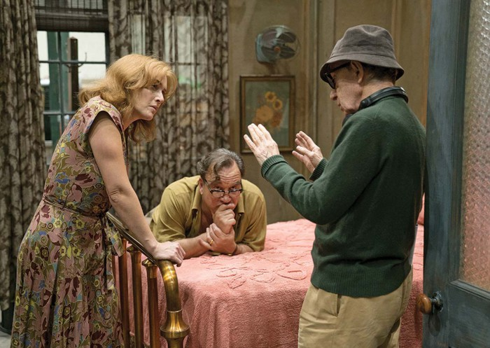 Kate Winslet se niega a hablar sobre Woody Allen