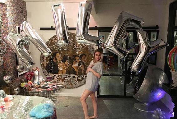 Miley Cyrus no está embarazada a pesar de su foto en Instagram