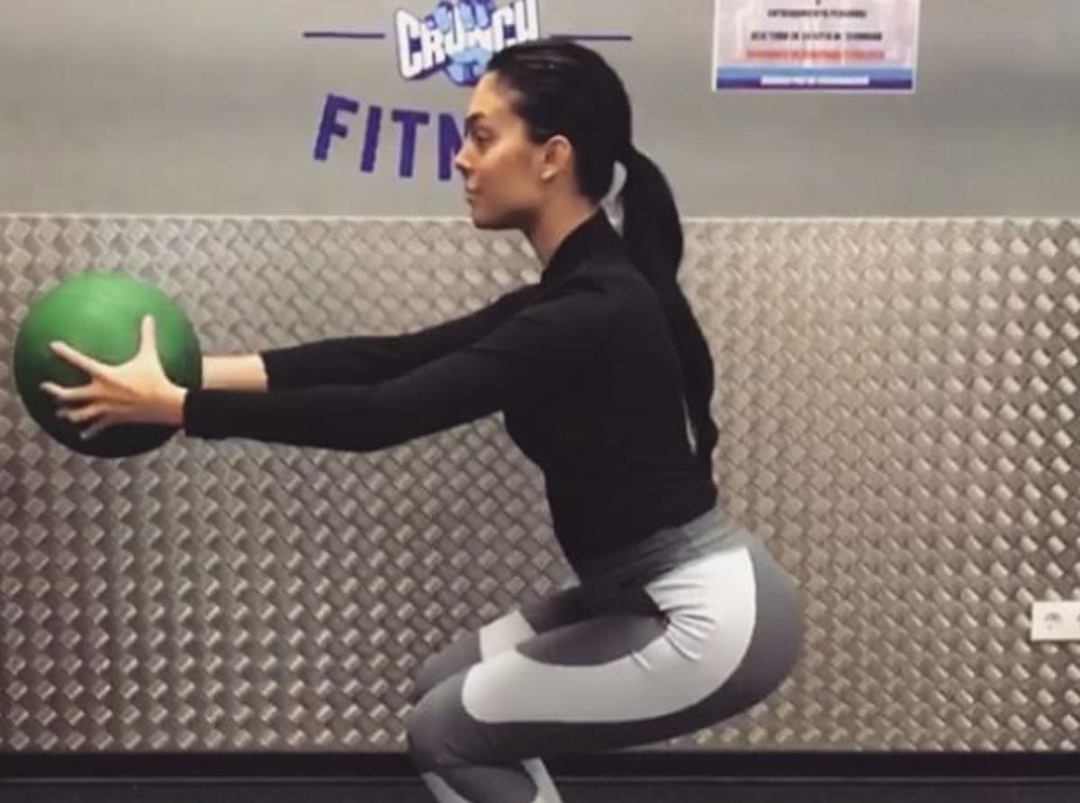 Georgina Rodríguez vuelve al gimnasio una semana después de ser madre
