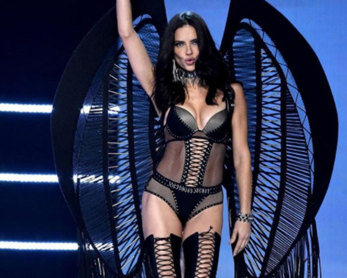 Adriana Lima no se quitará la ropa nunca más por causas vacías