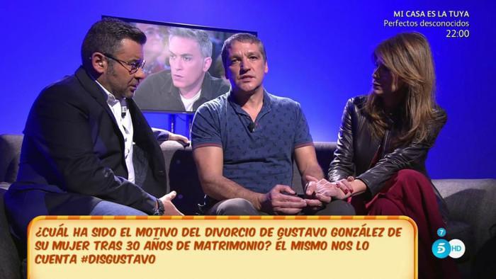 Gustavo González (Sálvame) asume la culpabilidad en su divorcio