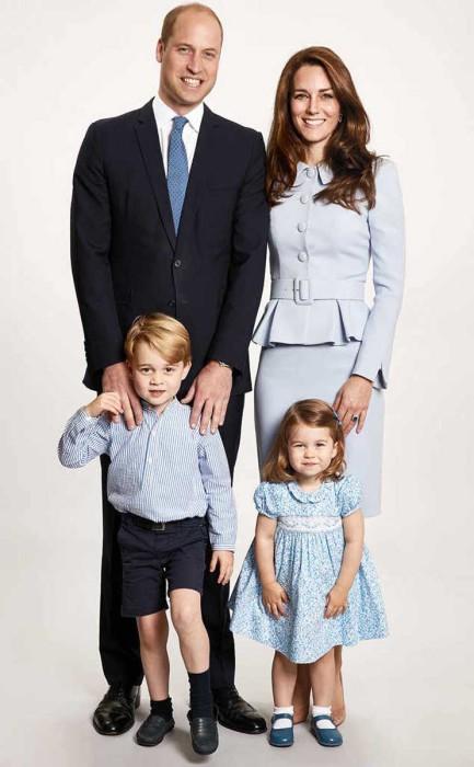 Meghan Markle encantada de pasar la Navidad con el príncipe George y la princesa Charlotte