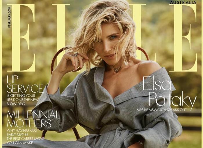 Elsa Pataky afirma que Chris Hemsworth era muy joven para comenzar una familia