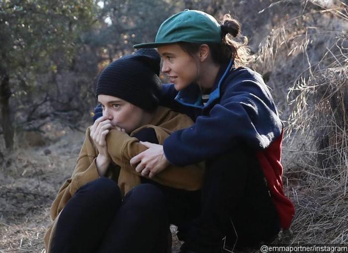 Ellen Page se casa con Emma Portner