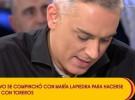 Gustavo González compinchado con María Lapiedra para hacerse fotos con El Litri
