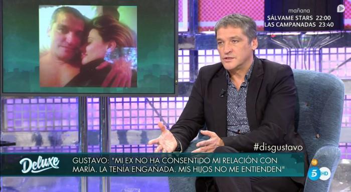 La mujer de Gustavo González paraliza el proceso de divorcio