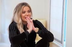 Khloe Kardashian, el anuncio de su embarazo emitido en el reality familiar