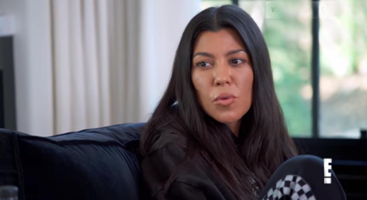 Kourtney Kardashian cuenta cómo se enteró su ex de que tenía un novio de 24 años