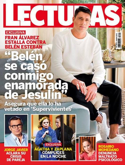 Fran Álvarez cuenta que Belén Esteban se casó con él por despecho y su veto en Supervivientes