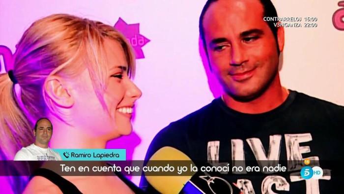 Ramiro Lapiedra carga contra María Lapiedra