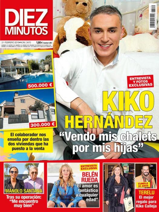 Kiko Hernández vende sus chalets porque no son seguros para sus hijas