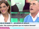 Raquel Bollo contesta a las críticas de los colaboradores de Sálvame por su vuelta a televisión