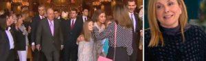 La reina Letizia preocupada y desolada tras las reacciones a las imágenes en las que aparta a la reina Sofía de sus hijas