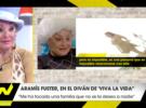 Aramís Fuster en Viva la Vida: «Me arrepiento de haber tenido a mis hijos»