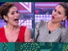 Mónica Hoyos y Miriam Saavedra, lamentable espectáculo en Sábado Deluxe