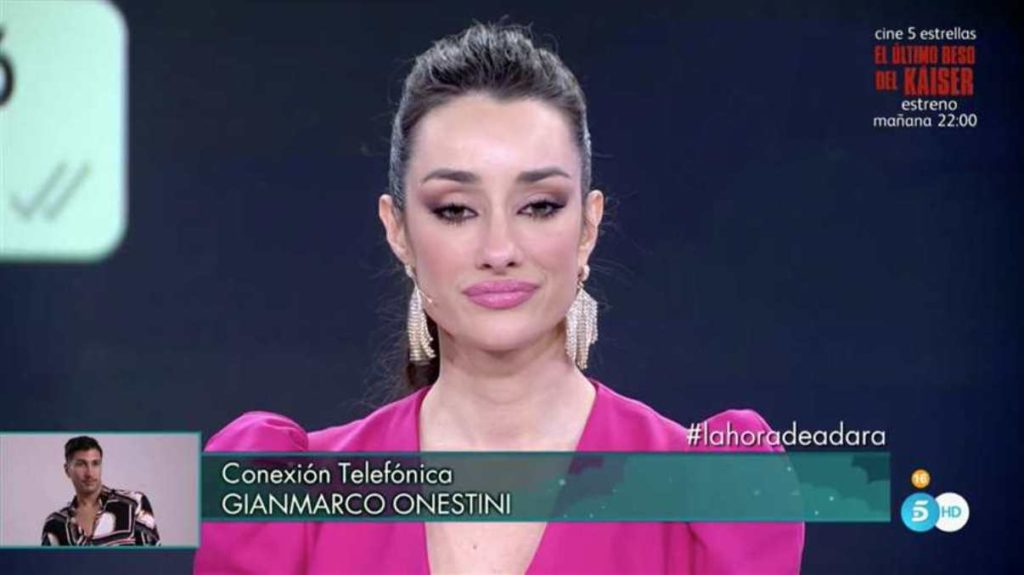 Adara Molinero Gianmarco Onestini