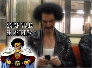 Mr Satán de carne y hueso