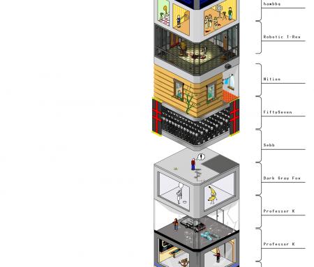 ¿Cuántos pisos tiene esta torre?