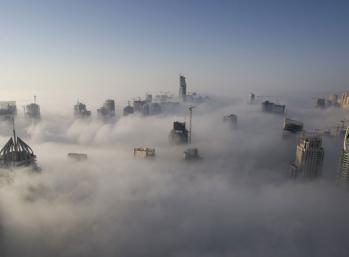 Dubai una ciudad en las nubes
