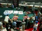 Una mesa de póquer gigante