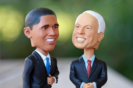 Barack Obama versus Jhon Maccain