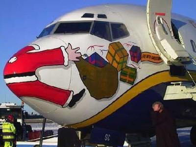 accidente Santa Claus