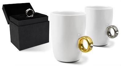 anillo taza