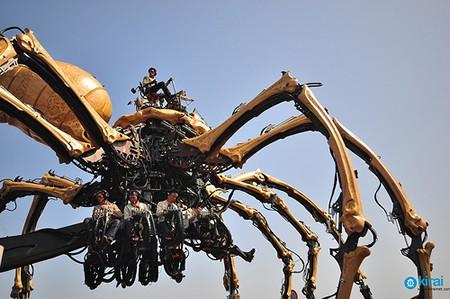 arañas_gigantes_japon_yokohama_la-machine