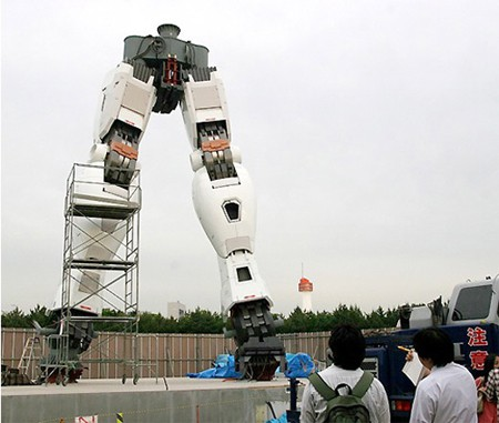 Estatua Gundam