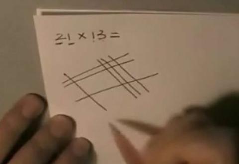 lección de matemáticas