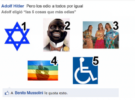 La segunda guerra mundial en facebook