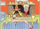 Graciosas caricaturas por navidad