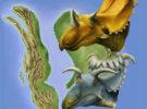 El dinosaurio con más cuernos