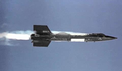 aviones-experimentales-NORTH-AMERICAN-X-15