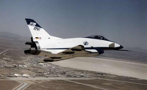 aviones-experimentales-ROCKWELL-X-31