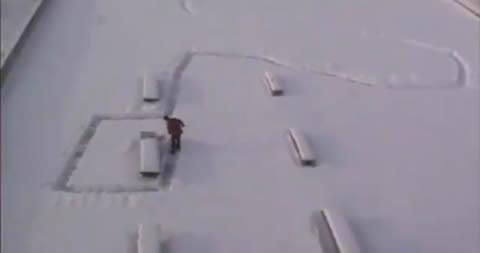 navidad-camino-nieve-broma