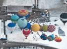 Festival internacional de globos aerostáticos en Chateau d'Oex
