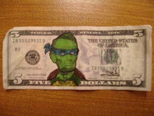 Billetes pintados