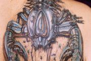 tatto-langosta