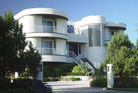 Tipos casas americanas 21 for Modern art deco homes