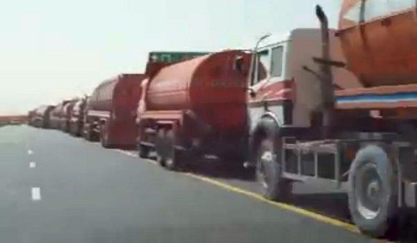 Camiones en Dubai