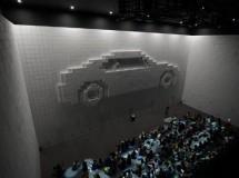 Hyper-Matrix, muros gigantes con píxeles móviles