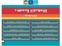 Con Typing karaoke puedes ver la velocidad que tienes con el teclado