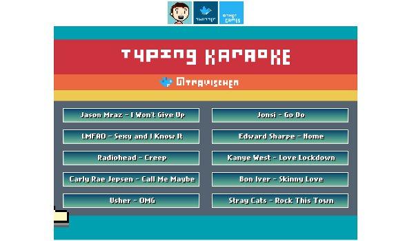 Typing Karaoke