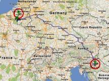 Un GPS lleva por error a una mujer belga a Zagreb (Croacia) en vez de ir a Burselas