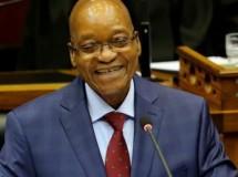 El presidente de Sudáfrica, a la venta por internet