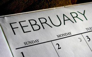 Febrero y sus 28 (o 29) días